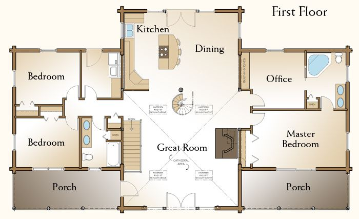 Best 25 basement floor plans ideas on pinterest for Log home floor plans with garage and basement