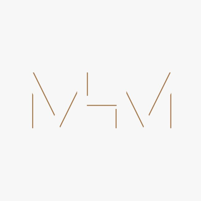 Monogram for MHM Architects by 26 Lettres.