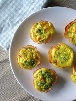 Nog een lekker recept voor de Paasbrunch: Ei muffins!