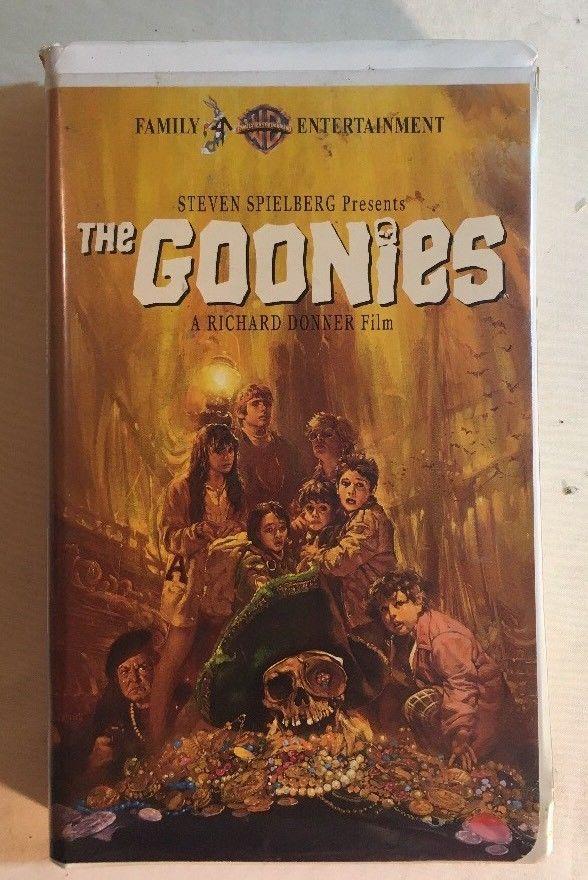The Goonies Vhs 1997 Steven Speilberg Josh Brolin Corey Feldman Sean Astin Goonies Vhs Vhs Cassette