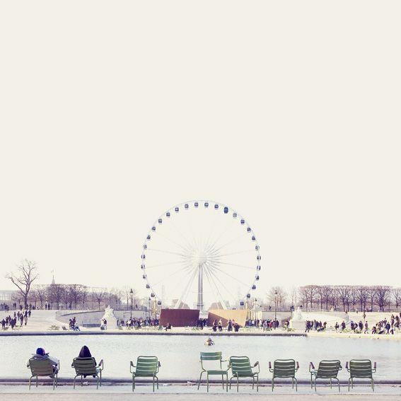 jardin tuileries, place de la concorde, paris 75001. photo by yosigo.惹かれる写真
