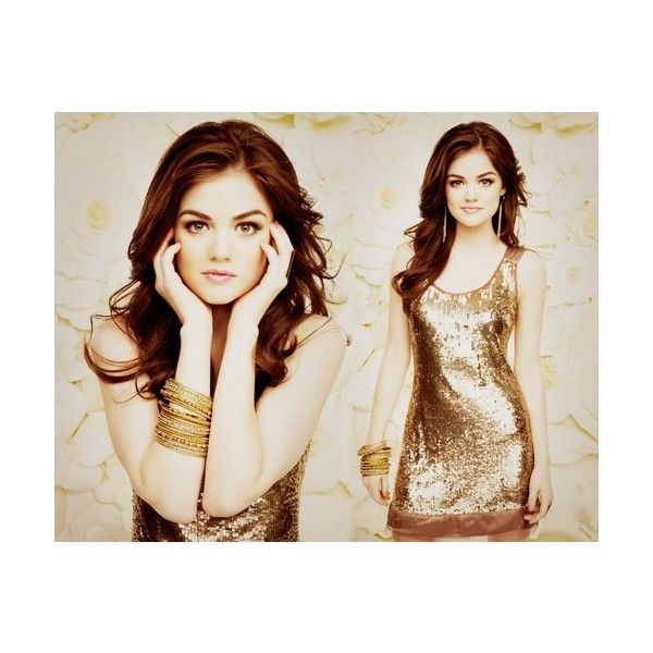 De stijl van Lucy Hale - Girlscene ❤ liked on Polyvore featuring lucy hale