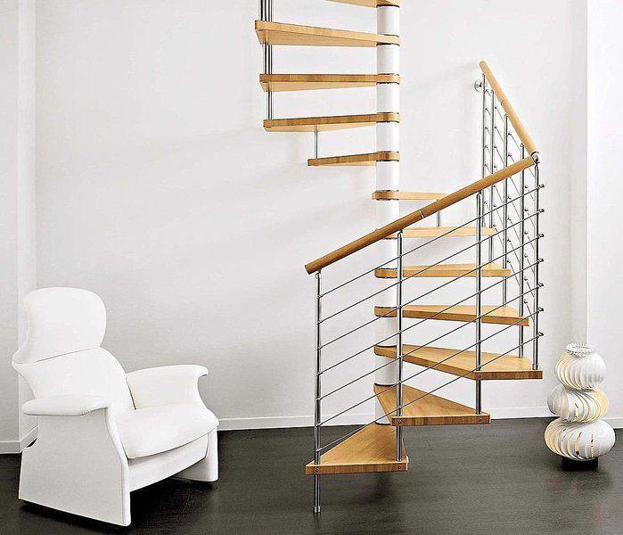 Best Interior Creative Stainless Steel Frame Spiral Staircase 400 x 300