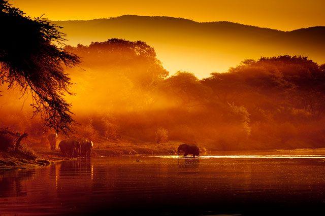 Tsika Island - Chongwe River Camp - Lower Zambezi National Park #Zambia