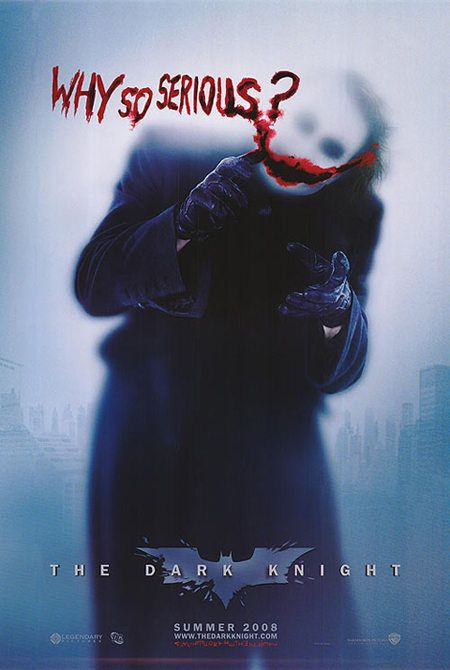 The Dark Knight- Heath Ledger was an awesome Joker...