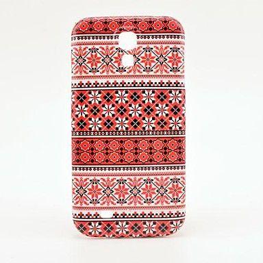 Snowflakes Fargerike Teppe Pattern Plastic Protective bak deksel til Samsung Galaxy S4 I9500 – NOK kr. 21