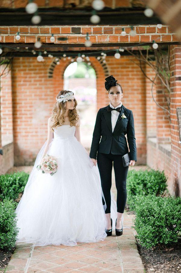 8 Perfecte style match tips voor een lesbische bruiloft | In White