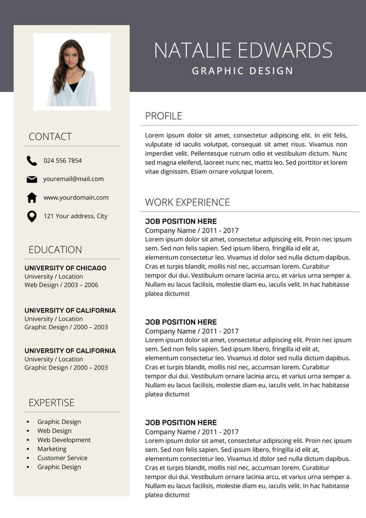 Creative Resume Template Cv Template For Ms Word And Pages Etsy Creative Resume Resume Design Resume Design Template