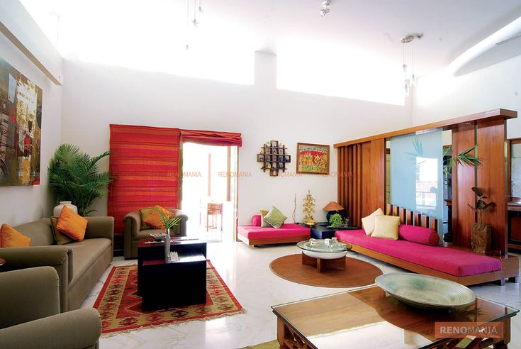 A beautiful subtle yet colourful theme is the core idea of this home. Bright colours, cane furniture, natural beauty, it has everything one wished to have in a