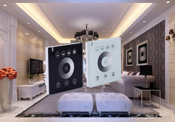 DIY home lighting single color LED Touch switch Panel Controller led dimmer for DC12V LED  strip lights