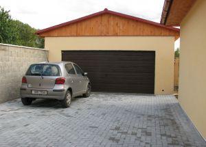 Beton Katalog | Garáže a jednoduché objekty: typ B6 - velkoprostorová garáž