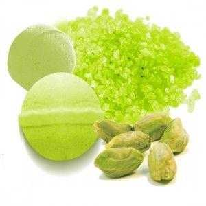 Tinte Verde Pistacho para Sales y Bombas de Baño