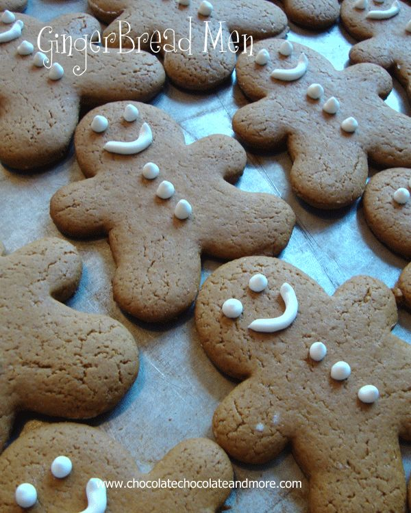 A Christmas Classic. These Gingerbread men cookies are a soft cookie with a mild ginger flavor. From an old family recipe.