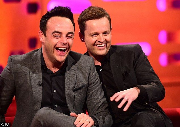 Feeling merry?Ant and Dec's national treasure status has certainly been confirmed since they forged an increasingly close bond with the royals - most recently when filming an intimate documentary with Prince Charles