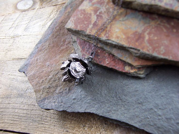 Spiky Pod - Antique Silver - Cat No 34