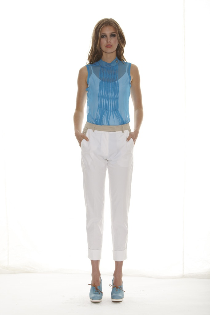 Taylor 'Shadow' Collection, Summer 12/13 www.taylorboutique.co.nz Cogent Pant - White