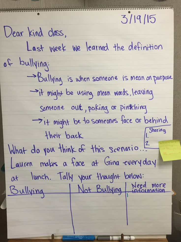 "A morning message that generates discussion and  supports lessons from""Bullyproofing your Classroom"" by Caltha Crowe."