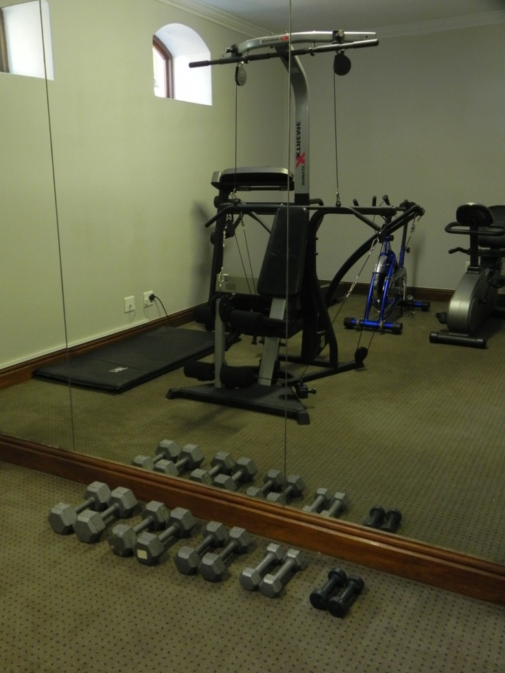 For your convenience a gym at The Lodge