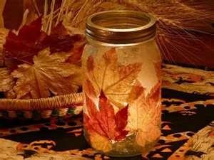 Mason Jar Decorations Unique Wedding Fall Decoration