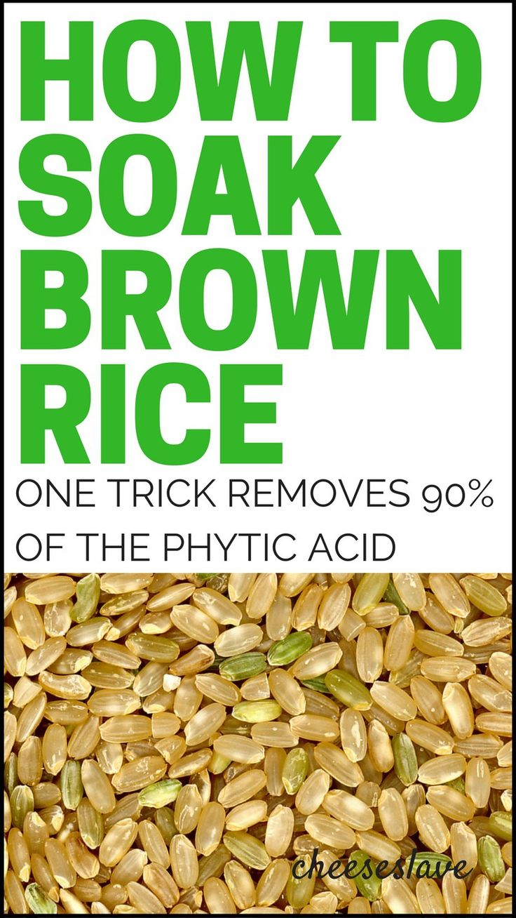 ~Why use the soaking water? Pin now, read later:  How to Soak Brown Rice: This One Trick Removes Over 90% of the Phytic Acid