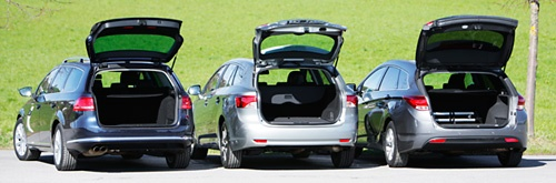 Vergleichstest VW Passat Variant, Hyundai i40cw, Toyota Avensis Combi