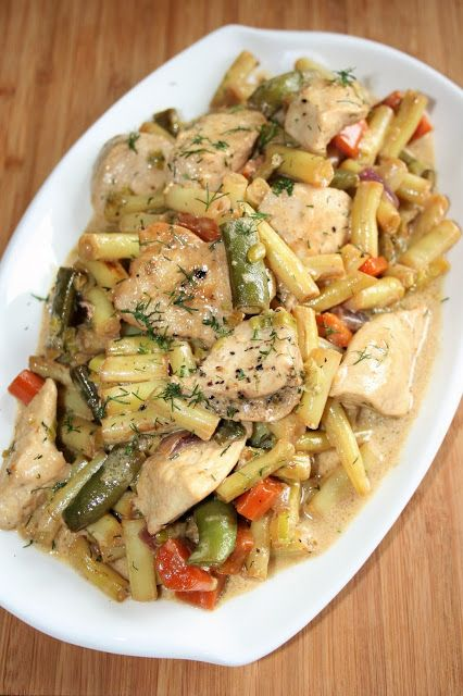 Potrawka z kurczaka z fasolką szparagową | sio-smutki! Monika od kuchni