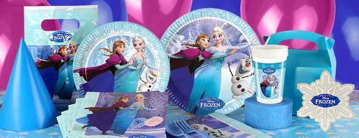 Frozen feestartikelen en versiering verjaardag | Diverse nieuwe Frozen feestartikelen toegevoegd aan het assortiment bij Feestwinkel Altijd Feest.