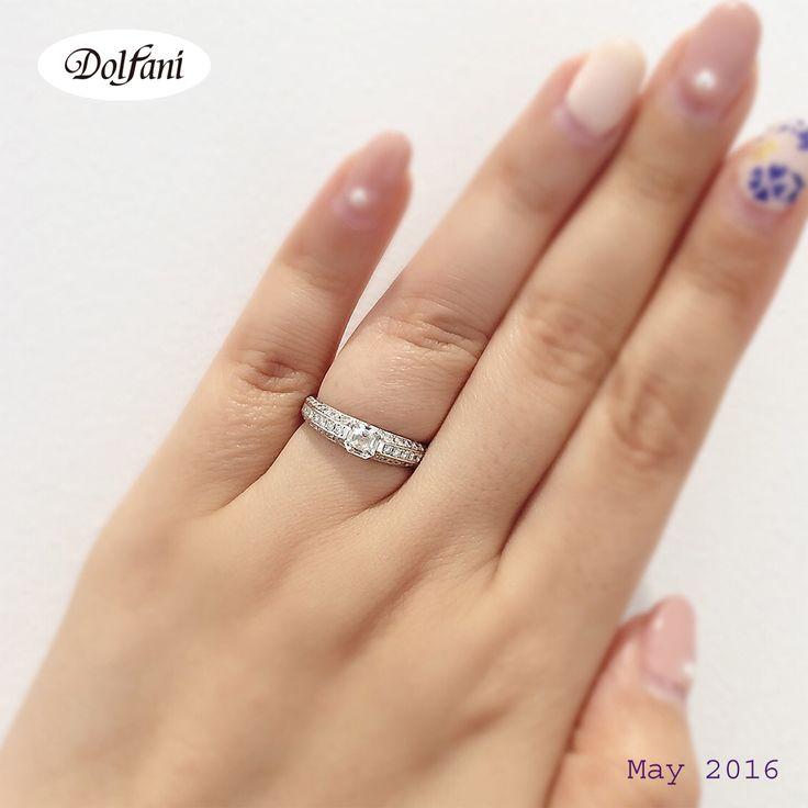 ✔️✨   :  #ドルファーニ #銀座 #キラリトギンザ #婚約指輪 #結婚指輪 #プレ花嫁 #結婚準備 #記念 #パヴェ #人気  #マリッジリング  #ゴージャス  #dolfani #ginza #bridal #kiraritoginza #engagement #marriage #ring #wedding #jewelry #weddingband #love #ootd #cute #l4l #happy #sweet #nail #pink