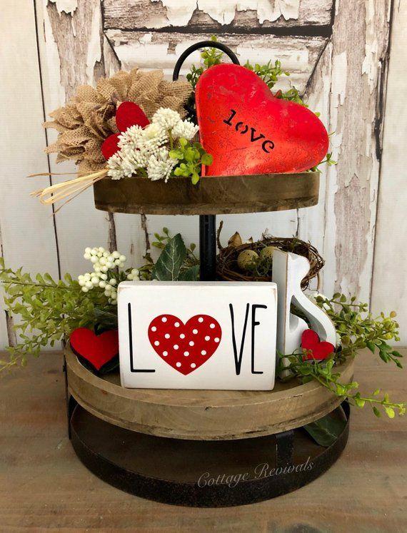 Valentine S Day Farmhouse Decor Farmhouse Valentine Decor Diy Valentine S Day Decorations Diy Valentines Decorations