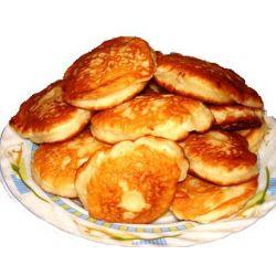 Рецепт: Оладьи из картофельного пюре