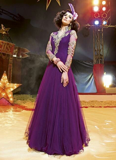Pakistani wedding #Purple dress