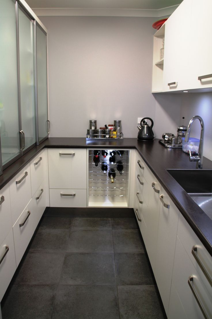 A scullery with a place for everything, no more kitchen mess. www.ntjoinery.co.nz