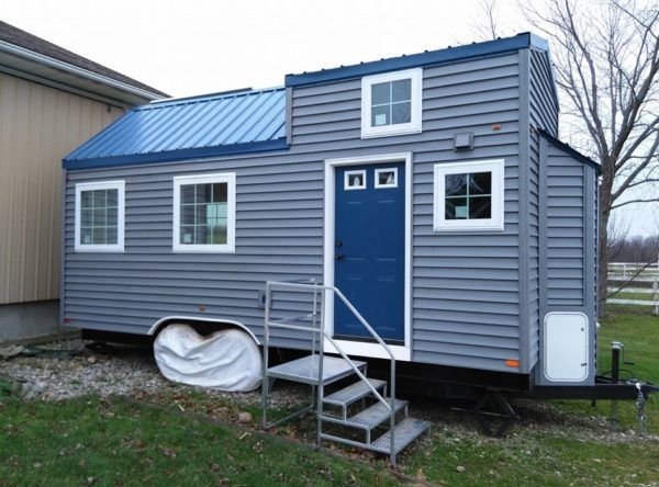this is judys dragonfly tiny house on wheels - Small House On Wheels