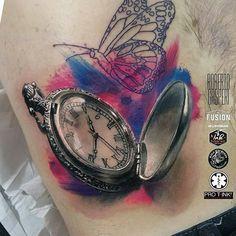 🕇 That watch detail! Tattoo By  @robertogasperitattoo @robertogasperitattoo  ________________________________ #tattooinspiration #tattoosofinstagram #inkedup  #татумастер #t2 #tatu. #татуировки #tatovering. #tattootime.  #tätowierung #문신 #tatuaż #tatuaggio  #タトゥー #tato #tattooitalia #tatouages #tatuering #artenapele. #tattooed #tatuador #tatuaje #tatuajesenfotos #وشم #amazingtattoos #realistictattoos  #colortattoos #blackngrey #tat