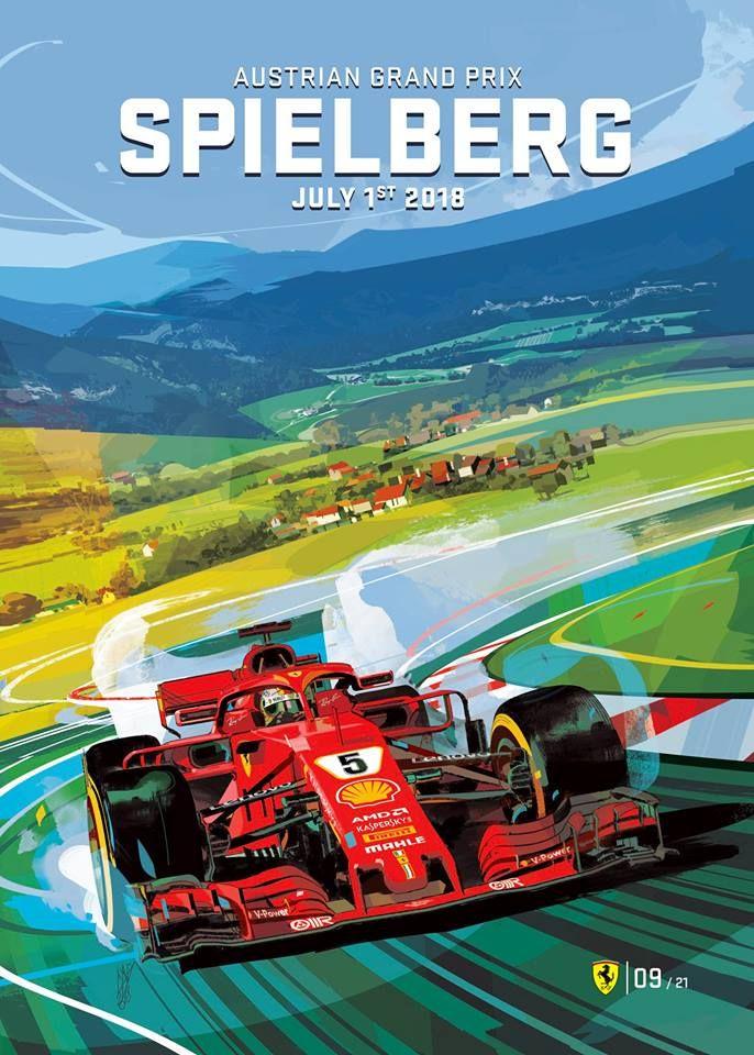 Scuderia Ferrari Austrian Gp By Gigicave Grand Prix Formule 1