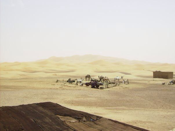 The Blue Hotel, Sahara desert, Morrocco