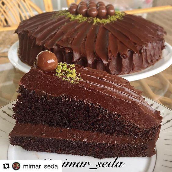 """818 Likes, 5 Comments - @mucizetatlar #mucizetatlar (@kek_tarifim) on Instagram: """"Tarif @morbostan ・・・ İftar sonrası için çyınızın yanına Enfes bir kek tarifi Beyaz çikolata soslu…"""""""