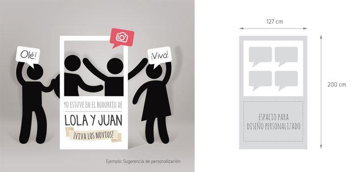 Photocall boda barato - Photocall para bodas - Fotocol para bodas