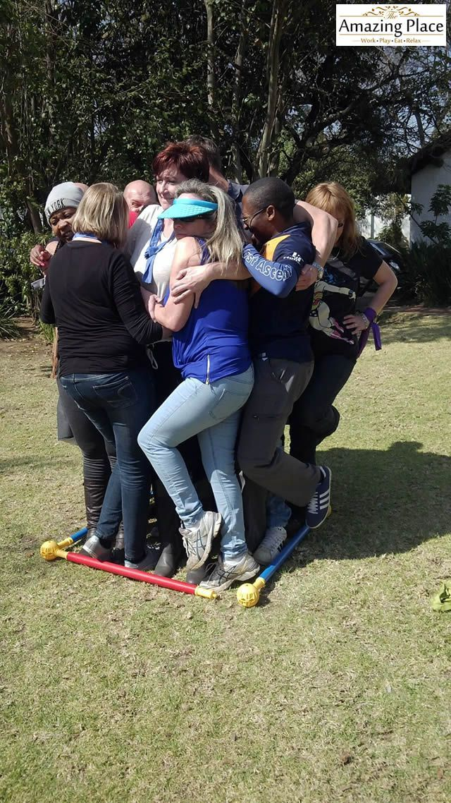 Nobel Biocare South Africa Team Building Event   The Amazing Place #teambuilding #nobelbiocare #sandton