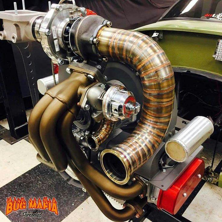 Volkswagen Motors: 366 Best Air Cooled Engines VW & Porsche Images On