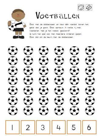 Dubbeldobbel voetbal! Een gezellig spel voor het WK - jufanke.nl
