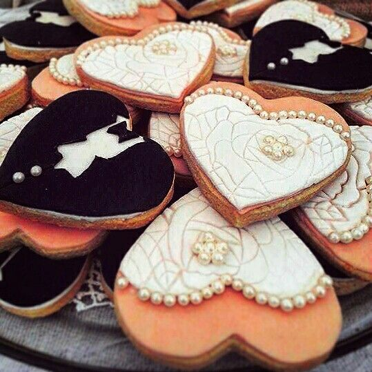 Wedding butter biscuits!