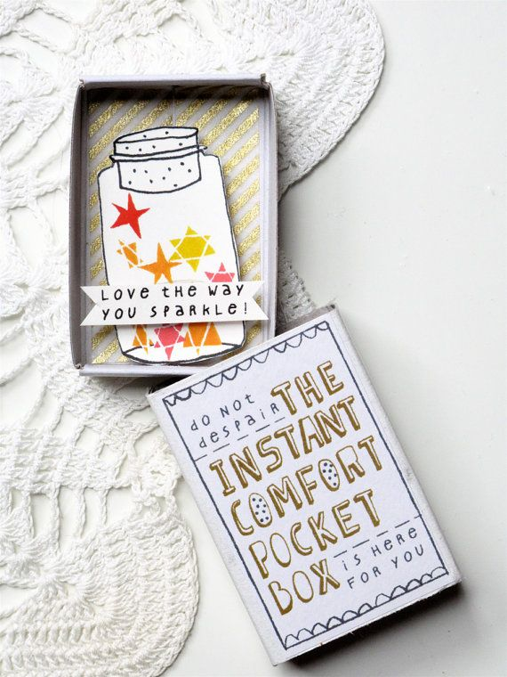 The Instant Comfort Pocket Box - Love in a Box