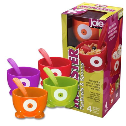 RO-EL - Product Details: 615808 - - Monster Bowls & Spoons