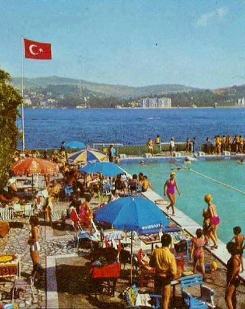 Köprü yapılmadan önce, Ortaköy Lido Havuzu.