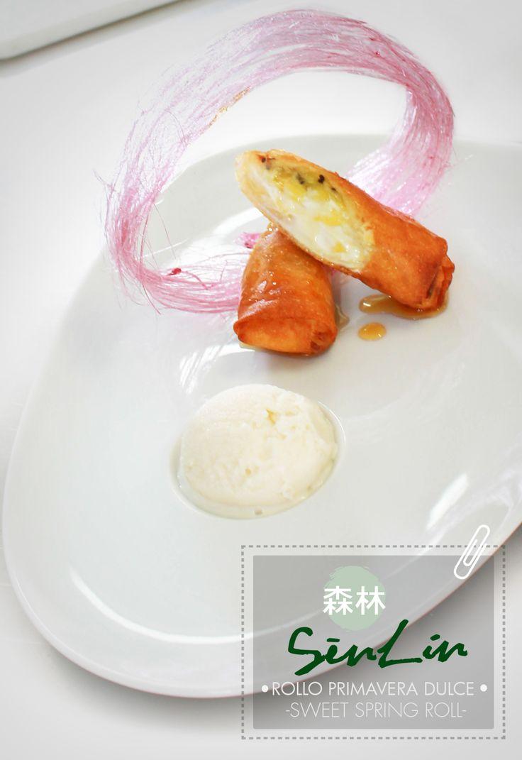 Sweet Spring Roll - Asian cuisine at Sen Lin Restaurant & Bar. #RecipeOfTheDay