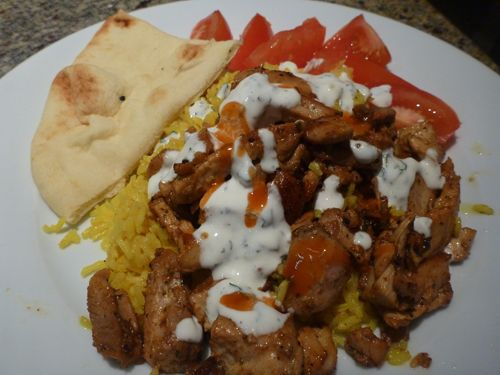 Halal Cart Style Chicken and Rice Recipes