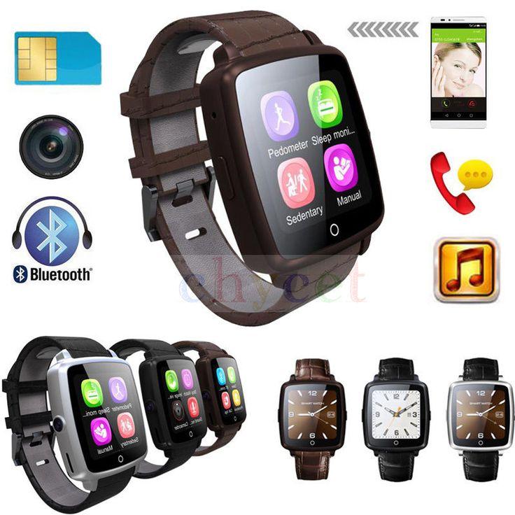 Q18 pro bluetooth smartwatch lederband smart watch unterstützung micro SIM Karte Video Spielen Schrittzähler für iOS Android Telefon PK Q18 //Price: $US $38.49 & FREE Shipping //     #smartwatches