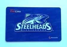 OHL Mississauga Steelhead Tim Card