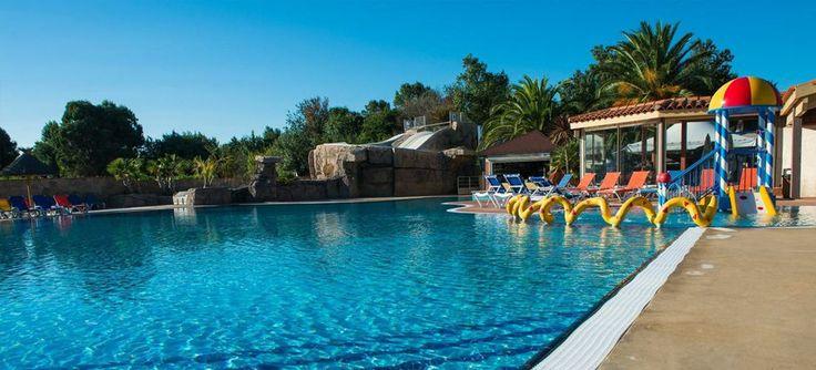 Camping piscine littoral Argeles, parc aquatique, camping Languedoc Roussillon avec espace aquatique